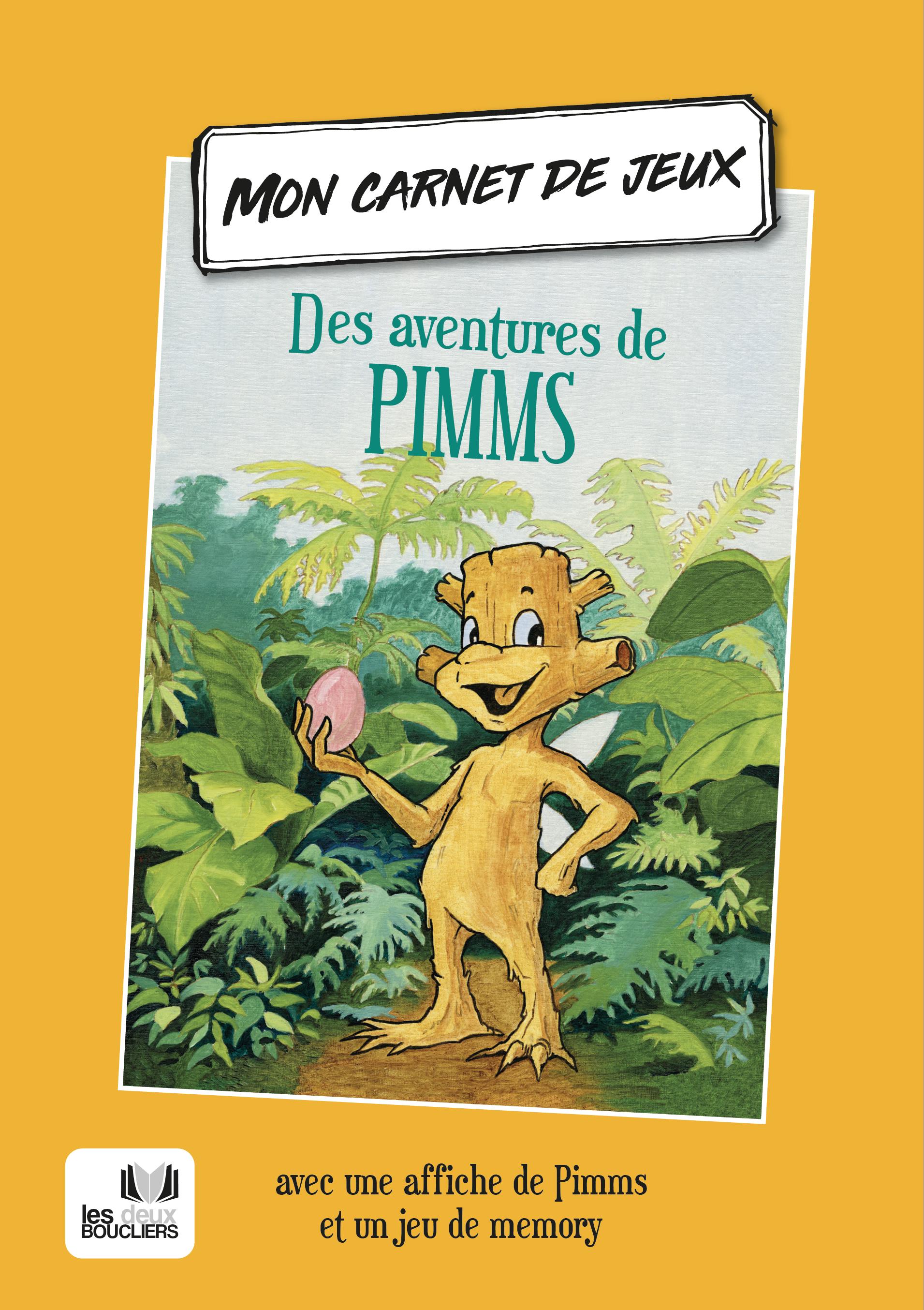 Carnet de jeux des aventures de Pimms