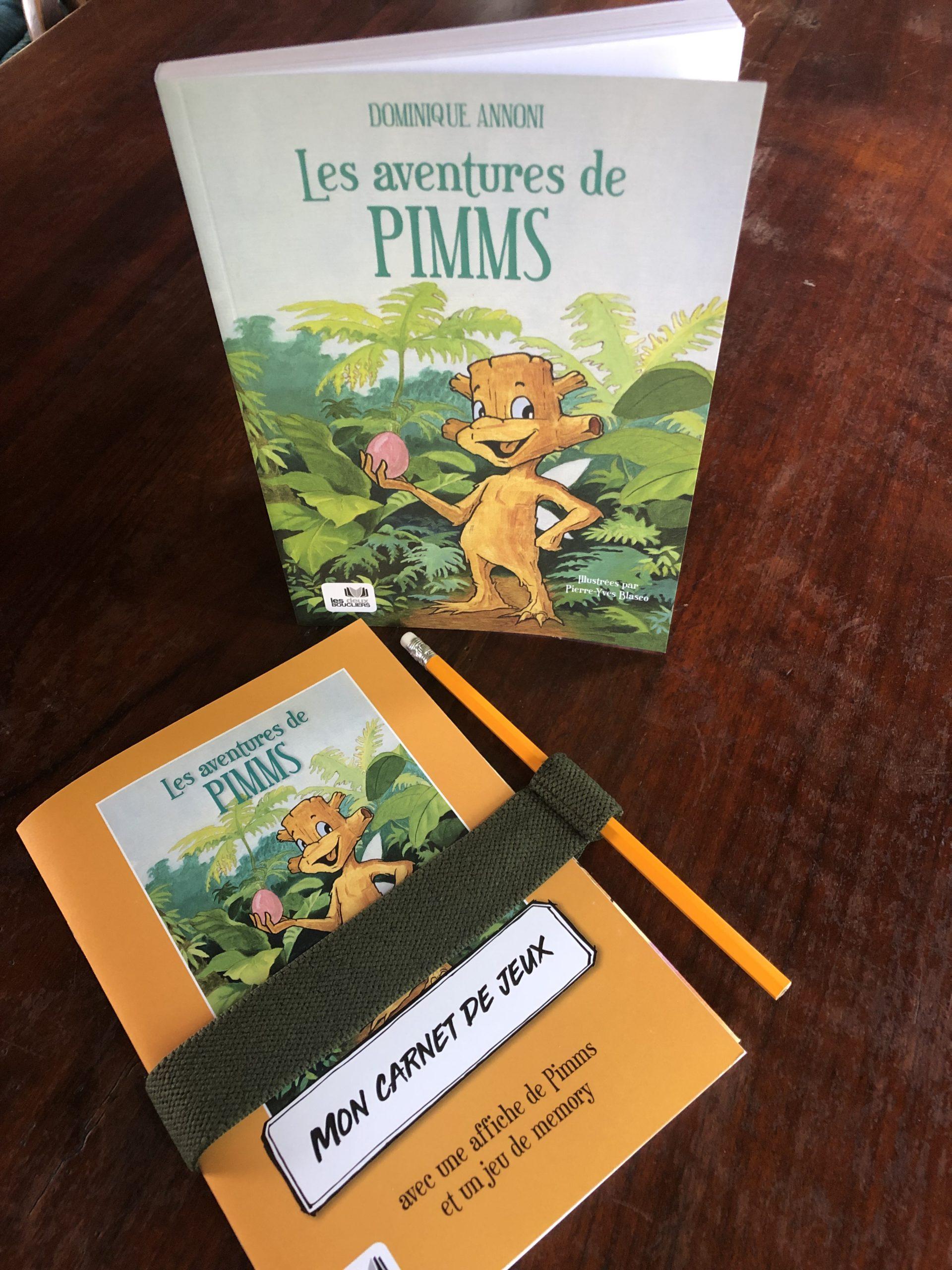 carnet de jeux Pimms